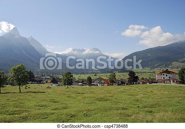 Village in Austria - csp4738488