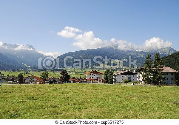Village in Austria - csp5517275