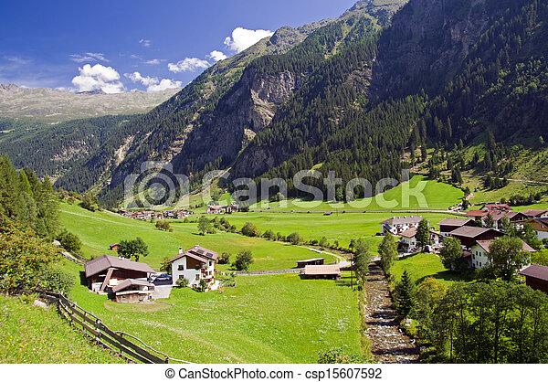 Village in Austria - csp15607592