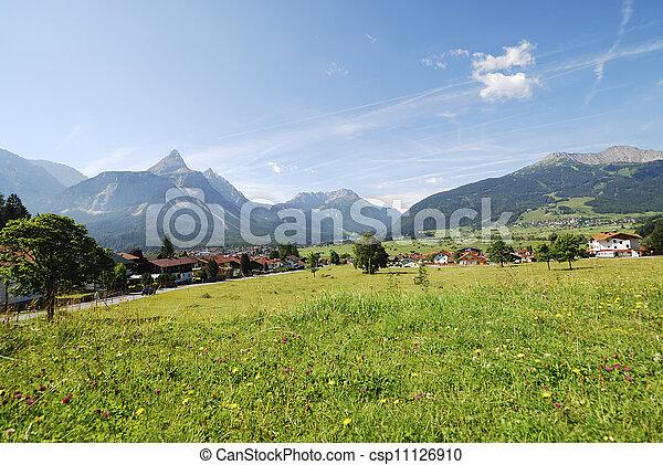 Village in Tirol - csp11126910