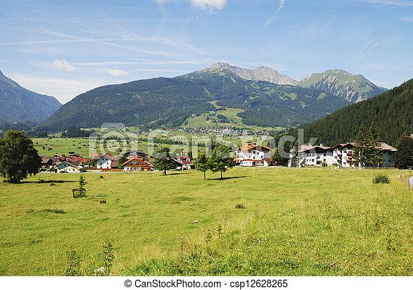 Village in Tirol - csp12628265