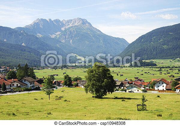 Village in Tirol - csp10948308
