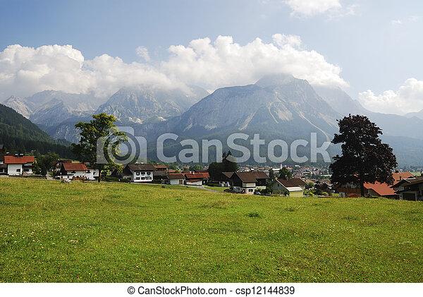 Village in Tirol - csp12144839