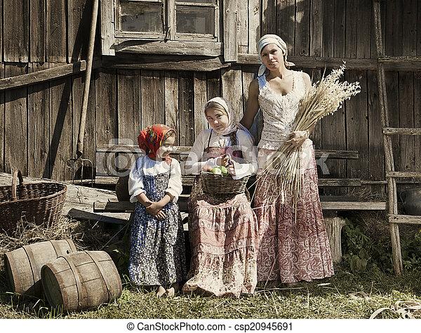 Village people - csp20945691