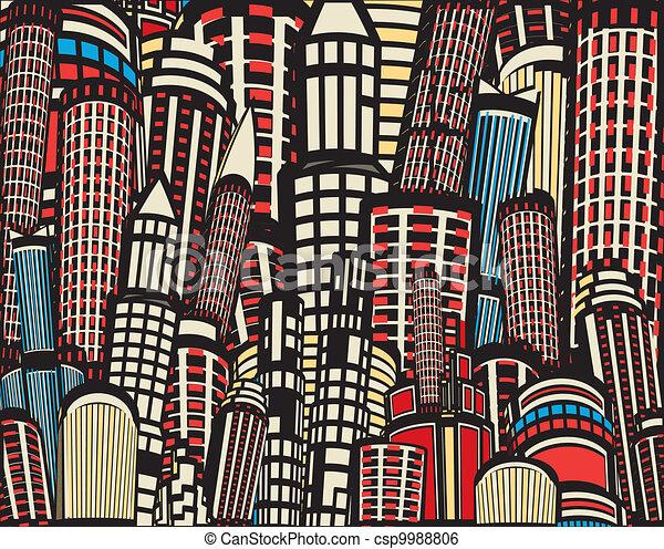 arabe grande ville sunset vecteur. vous aimez cet article. dessin ...