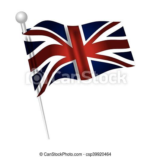 Berühmt Clipart vecteur de ville, drapeau, londres - ville, symbole  ZH32