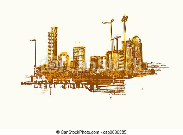 ville, grand - csp0630385