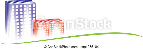 ville, logo - csp1385184