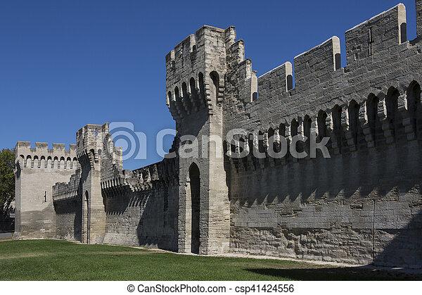 ville moyen ge avignon france murs 1348 contr le sept pape vi 1995 il rome. Black Bedroom Furniture Sets. Home Design Ideas
