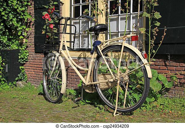 ville, vélo - csp24934209