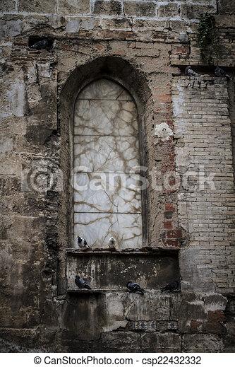 Ville vieux espagnol m diterran en gothique valence dessins rechercher clipart for Fenetre en espagnol