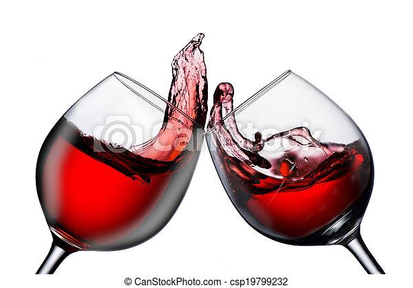 vin rouge - csp19799232