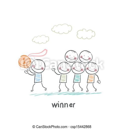 vincitore - csp15442868
