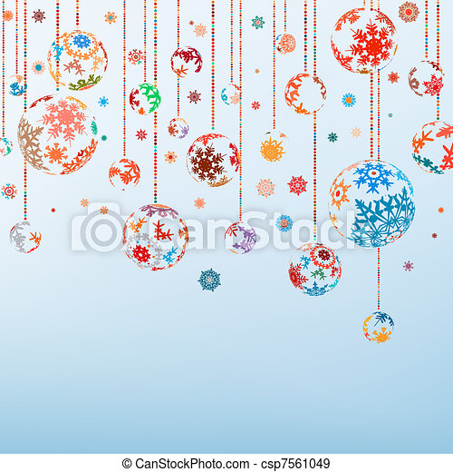 vindima, eps, year., feliz, 8, novo, natal, feliz - csp7561049