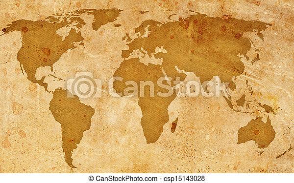 vindima, mapa, mundo - csp15143028