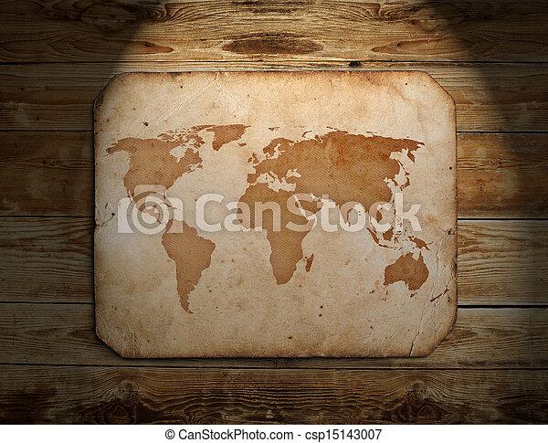 vindima, mapa, mundo - csp15143007