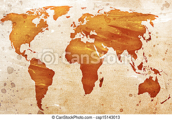 vindima, mapa, mundo - csp15143013