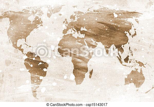 vindima, mapa, mundo - csp15143017