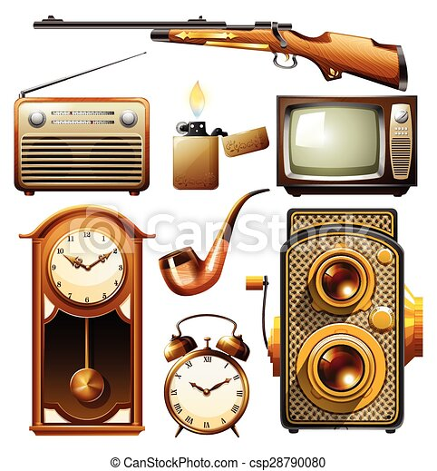 Vindima objetos vindima projeto fixo objetos - Objetos vintage ...