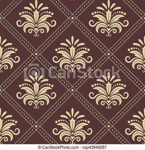vindima, papel parede, seamless - csp43949287