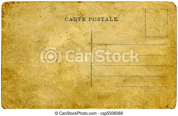 vindima, postcard. - csp5506068