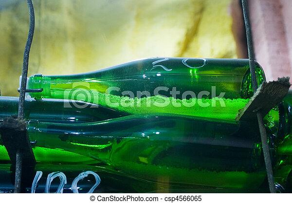 vine bottles - csp4566065