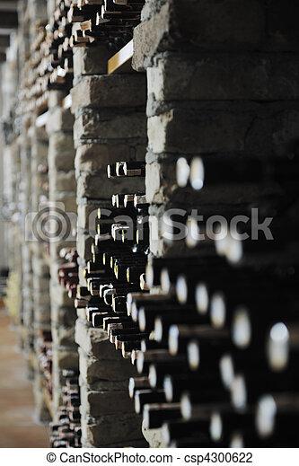 vine bottles  - csp4300622
