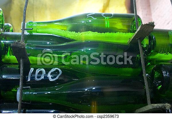 vine bottles - csp2359673