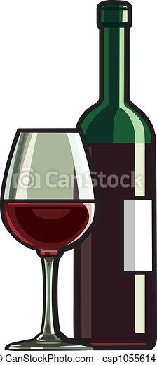 vinho tinto - csp10556141