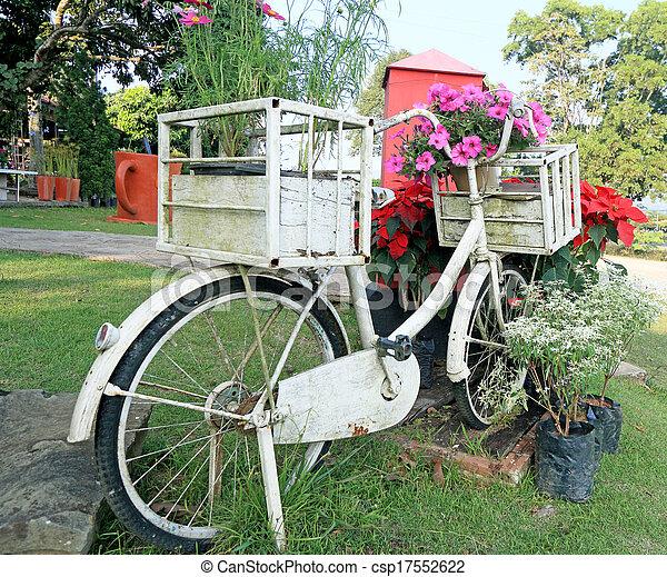 vinobraní, bicycle. - csp17552622