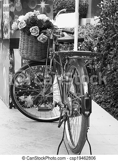 vinobraní, bicycle. - csp19462806