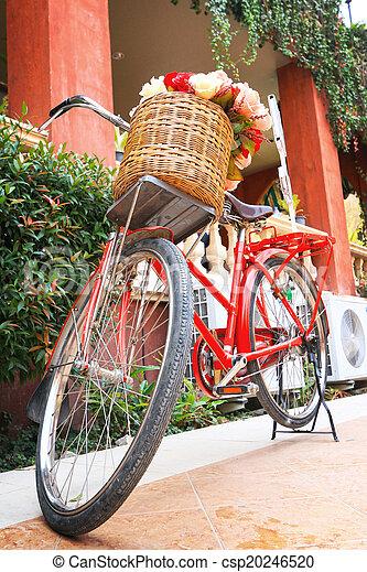 vinobraní, jezdit na kole - csp20246520