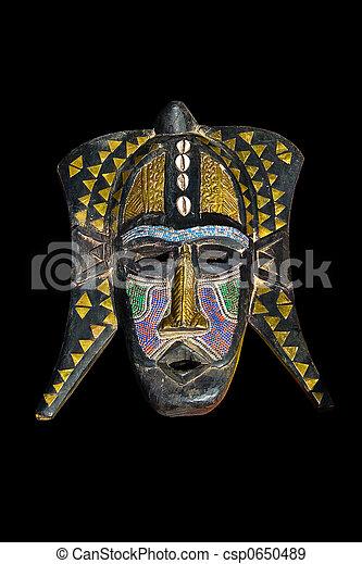 Vintage African mask - csp0650489