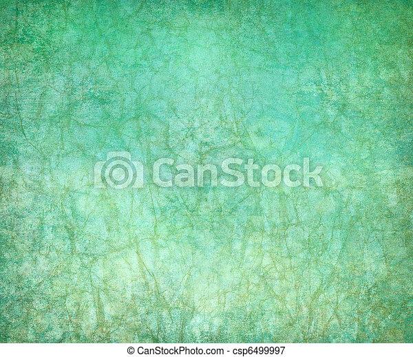 Vintage aquamarine background - csp6499997