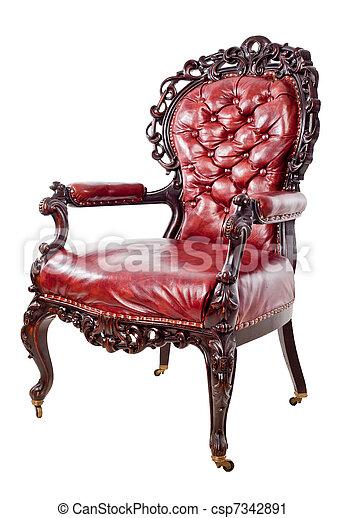Vintage armchair - csp7342891