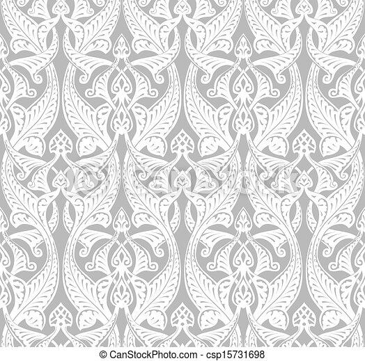 Vintage Art Nouveau Background - csp15731698
