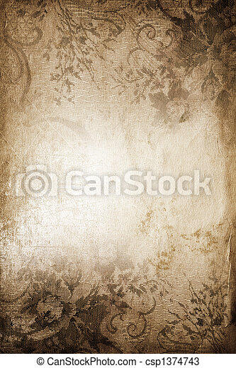 vintage background - csp1374743