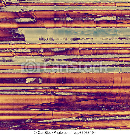 Vintage background texture, antique style composition for your design. With different color patterns: yellow (beige); blue; gray; red (orange); purple (violet); pink - csp37033494