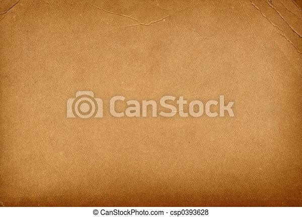 Vintage Bended Paper Brown Old Textured