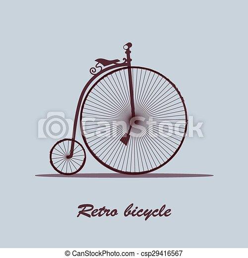 Vintage Bicycle - csp29416567