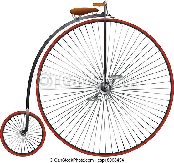 Vintage bicycle - csp18068454