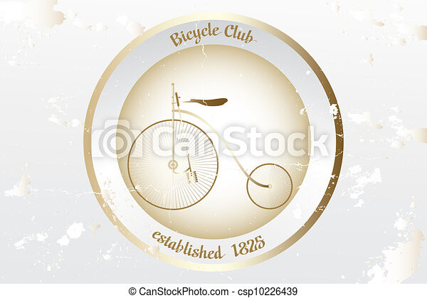 Vintage bicycle design - csp10226439
