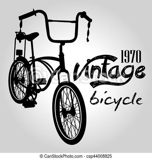 Vintage bicycle - csp44008825