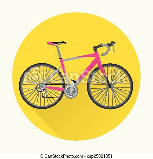 Vintage Bicycle Vector Design - csp25021351