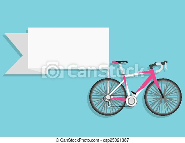 Vintage Bicycle Vector Design - csp25021387