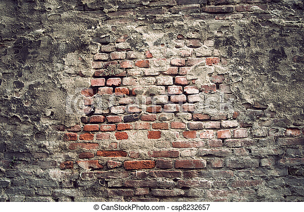 Vintage Brick Wall Background Of With Look