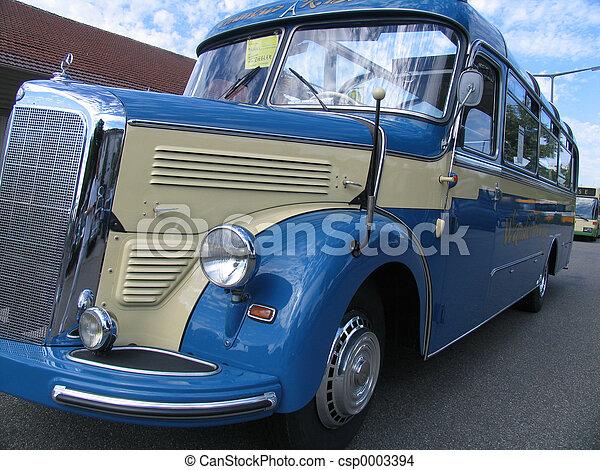 Vintage bus - csp0003394