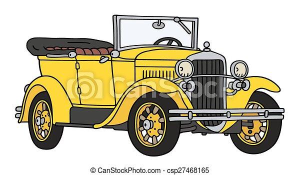 Vintage cabriolet - csp27468165