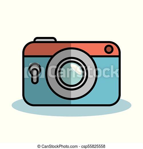 vintage camera design vintage camera over white background rh canstockphoto co uk vintage camera clipart black and white