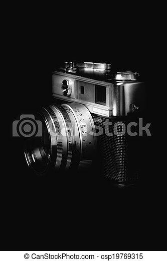 Vintage camera - csp19769315